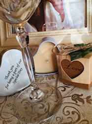 favours wedding gifts candles