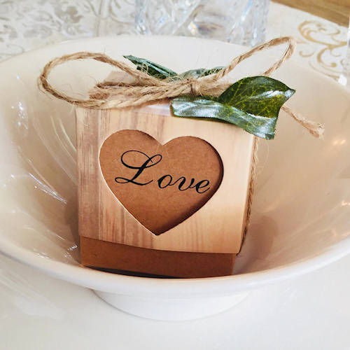 love candles wedding gifts